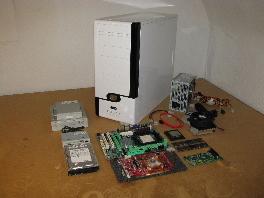computer aufbau pc zusammenbauen mit foto anleitung. Black Bedroom Furniture Sets. Home Design Ideas